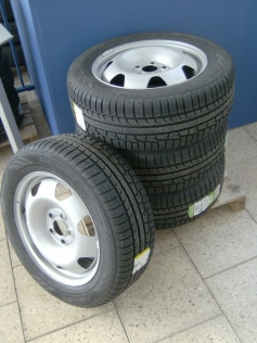 VW Transporter winterbanden 17 inch